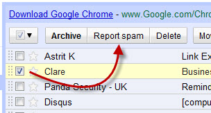 Auto Delete, Filter or Report Spam Email in Gmail Account