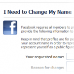 How to fix Your name change request has been rejected by our automated approval system