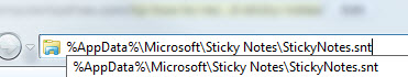 Tip: How to Recover Deleted Sticky Notes in Windows 7