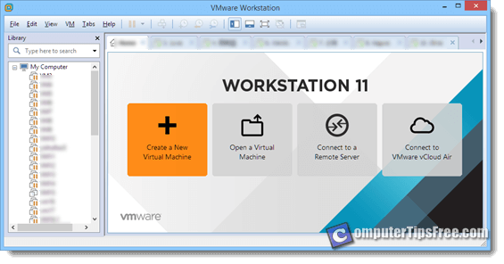 VMware create new virtual machine bluestacks