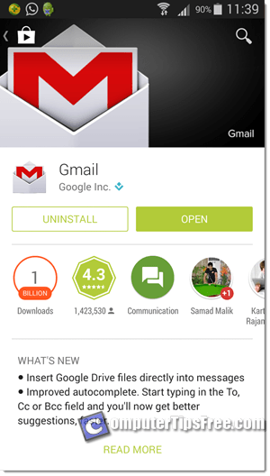 gmail app android download