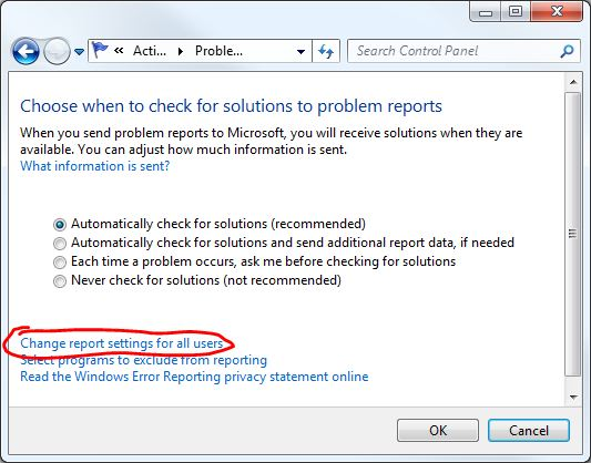 Windows Explorer Has Stopped Working How to Disable Windows Error Reporting