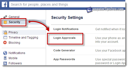 facebook 2 factor authentication login approval