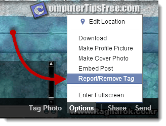 facebook remove tag from photo