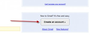 gmail.com sign up page create a new account