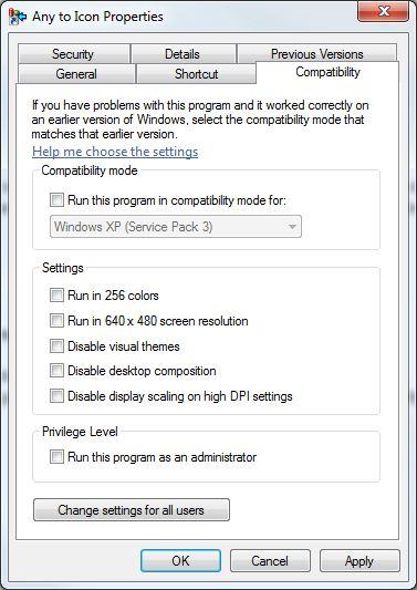Compatibility Mode Windows 8/7/8.1/XP Run Programs in Previous version Windows