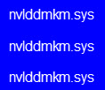 nvlddmkm-sys-blue-screen